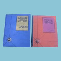 2  Teaching Books from 1937 Correlated Curriculum Activities and Master Pictures