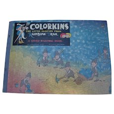 The Colorkins the Little Painters from Rainbow Trail A Story-Painting Book for Children