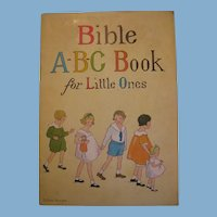 1930s Bible ABC Book for Little Ones