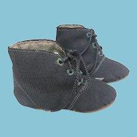 Vintage Mennonite or Amish Handmade Baby Shoes