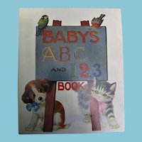 Baby's ABC and 1 2 3 Book by Sam'l Gabriel & Sons Co