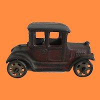 Early Cast Iron Model T Ford Coupe Hubley AC Williams Arcade Kilgore