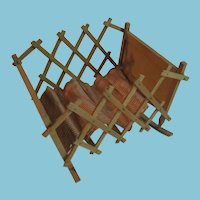 Old Folding Doll Crib that Rocks
