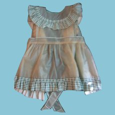 Vintage Vinyl Pinafore Apron for Patty Play Pal Doll or Little Girl