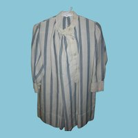 Unusual Boys Blue and White Striped Dress