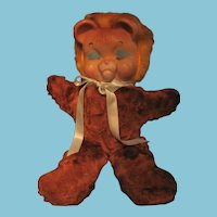 Vintage Rushton Knickerbocker Pouty Faced Lion