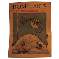 December 1937 Home Arts Magazine with Delightful Cover