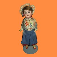 Child of Faith Recknagle Bisque Head Germany Made Doll