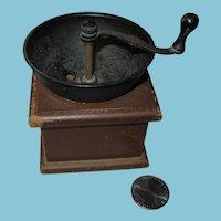 Vintage George S Thompson Miniature Pepper Mill or Grinder