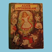 Hard to Find Softcover Alice in Wonderland by Lewis Carroll