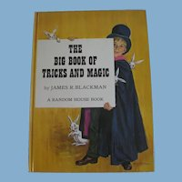 The Big Book of Tricks and Magic by Blackman for Kids