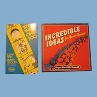 2 Vintage Books with Ideas For Youth Groups