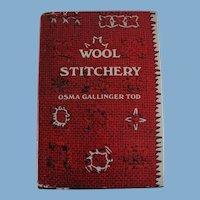 Wool Stitchery Book by Osma Gallinger Tod