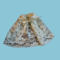 Nice Vintage Lace Cape for Dolls