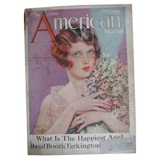 The American Magazine June 1926 Issue with Earl Christy Cover