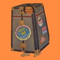 1930s RARE Oversized Patsy Ann and Her Trunk Full of Clothes Paper Doll