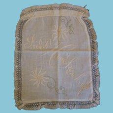 Vintage Hankerchief Bag for Your Old Hankies