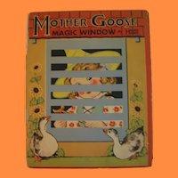 Mother Goose Magic Window Book by Hank Hart