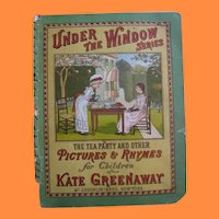 The Tea Party and Other Pictures and Rhymes for Children after Kate Greenaway