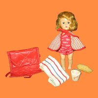 Vintage Ginny Doll Beach Wear and Summer Accessories
