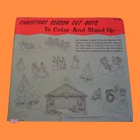 Vintage Large Christmas Cutouts for Displays