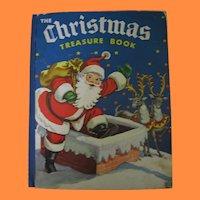 The Christmas Treasure Book with Pop Up Santa