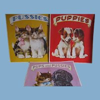 3 Adorable Kids Books Featuring Puppies and Pussies