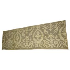 Early 1900s Lace Runner with Lovely Art Nouveau Design