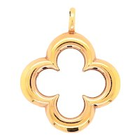 Mouawad 18K Gold Clover Pendant
