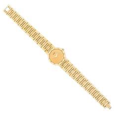 Piaget 'Dancer' 18K Gold Watch