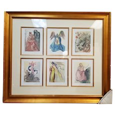 Salvador Dali Limited Edition 6 in 1 Color Lithographs