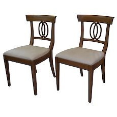 Mid-Century Modern Vintage Dining Chairs by Drexel Heritage - a Pair