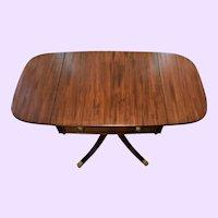 Antique Pembroke Mahogany Drop Leaf Coffee Table