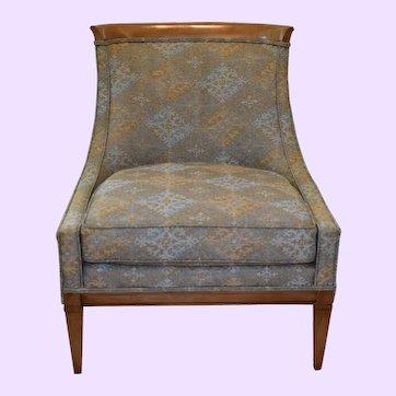 1960s Drexel Heritage Mid-Century Highback Lounge Chair