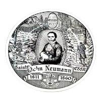 Rare Kreisshuas EV Gray St John Neumann Collector Plate
