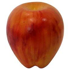 Vintage Handpainted Italian Alabaster Apple