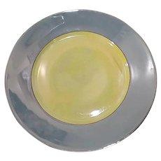 1920s Rudolf Wachter/Richard Ginori Blue Lusterware Salad Plate