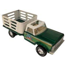 Vintage Nylint Farms Toy Metal Farm Truck w/Cattle Gates