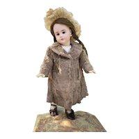 Fabulous fur coat for your antique doll