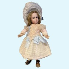 Wonderful wonderful one of a kind couture dress for Antique Bebe