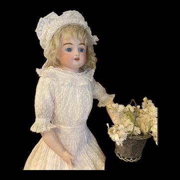 Real beauty Kestner doll, rare letter K