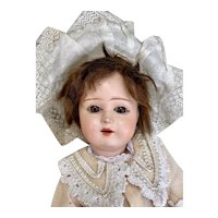 Lovely papier-maché Eden Bebe doll