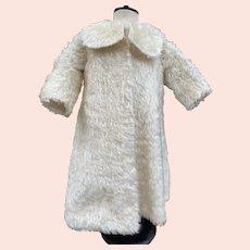 Antique children's teddy coat