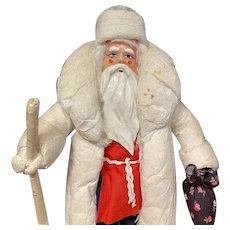 Wonderful Christmas Santa, spun cotton Santa