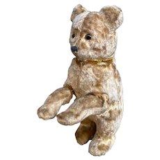 Vintage Soviet  Union toy bear, clockwork toy, dancing bear