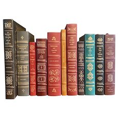 Legal Classics Library 11 Volume Lot Gryphon Books Fine Leather Binding Law
