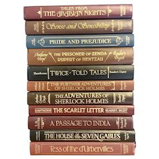 Set of 11 Classic Vintage Books Published by Reader's Digest