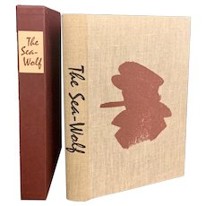 Vintage Limited Editions Club Book THE SEA WOLF by Jack London Illustrated SIGNED Fletcher Martin with Slipcase LEC