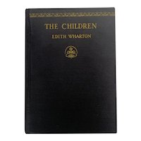 RARE Vintage 1928 THE CHILDREN by Edith Wharton First Edition