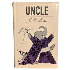 First Edition Vintage 1966 UNCLE by J. P. Martin Illustrated Quentin Blake Children's Book